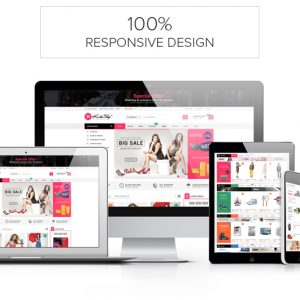 Template kute theme shop wordpress